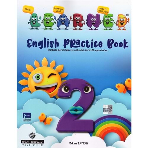BOREALIS 2.SINIF LEARNED ENGLISH PRACTICE BOOK